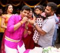 Actor Jiiva @ Lalitha Shobi Daughter Syamantakamani Ashvika 2nd Birthday Celebration Photos