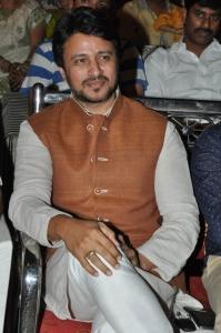Raja @ Lava Kusa Movie Audio Launch Stills
