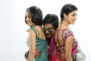 Ruchi Tripathi, Varun Sandesh, Richa Panai in Lava Kusa Telugu Movie Stills