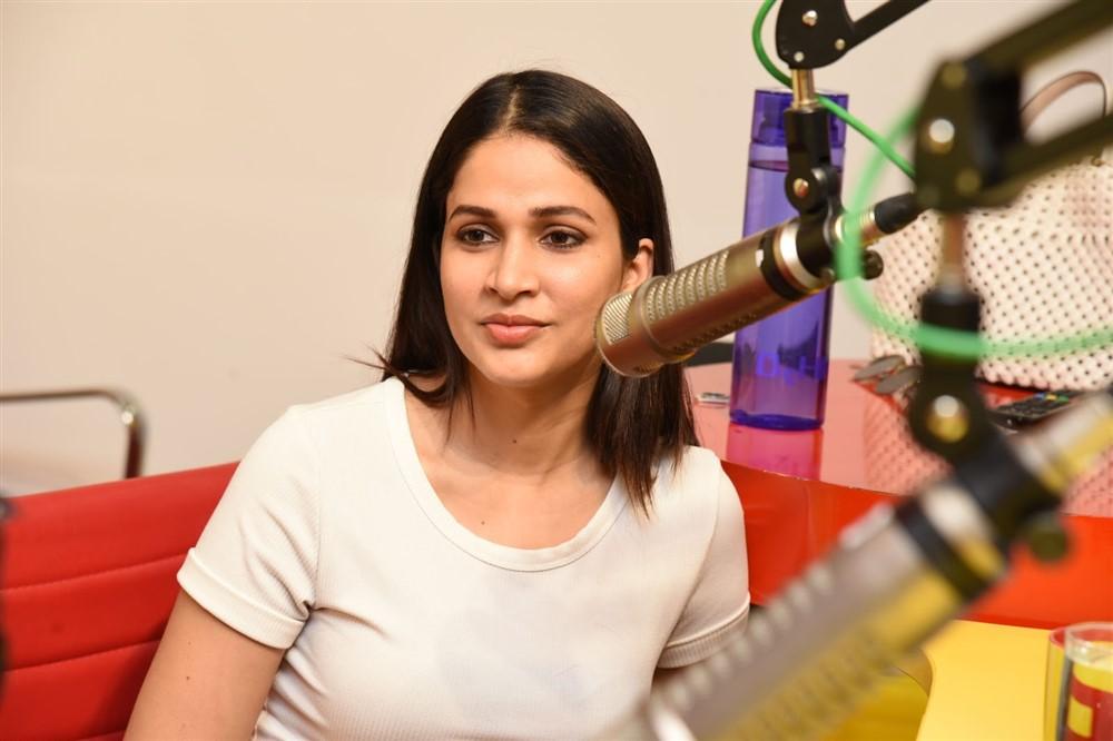 Actress Lavanya Tripathi @ Arjun Suravaram First Song Launch Photos