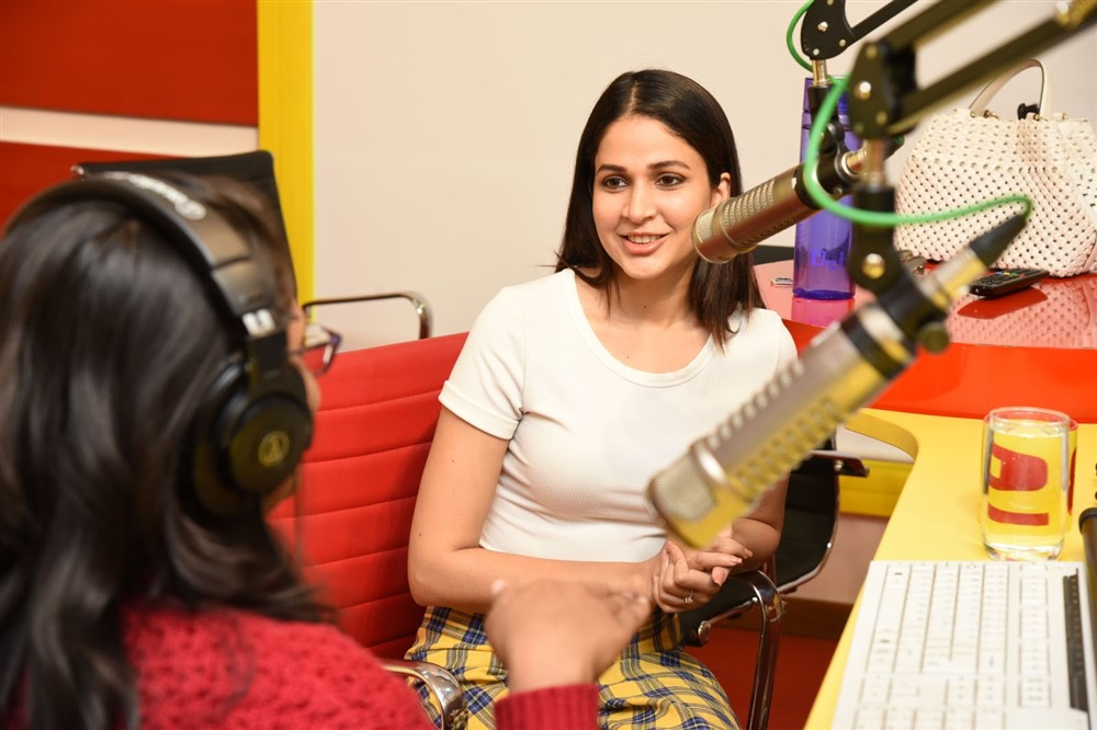 Actress Lavanya Tripathi @ Arjun Suravaram First Single Launch Photos