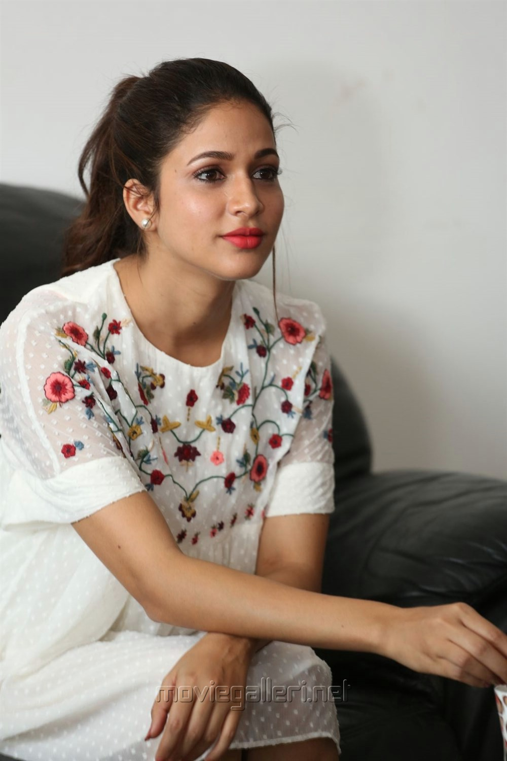 Actress Lavanya Tripathi Images at Mister Movie Interview
