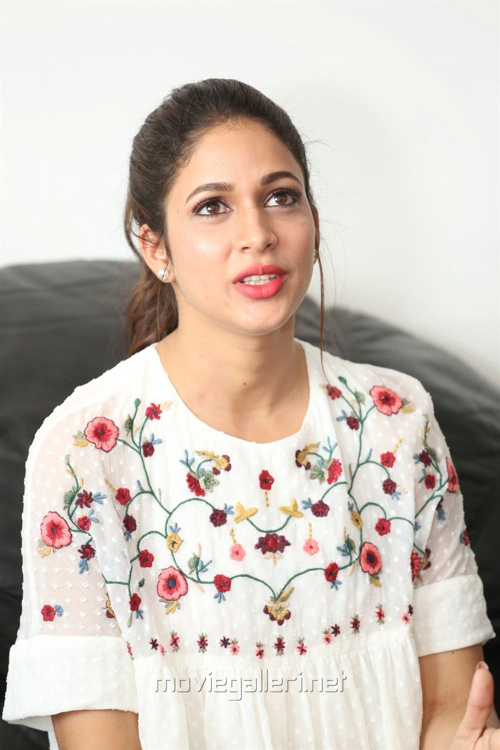 Actress Lavanya Tripathi Images @ Mister Movie Interview