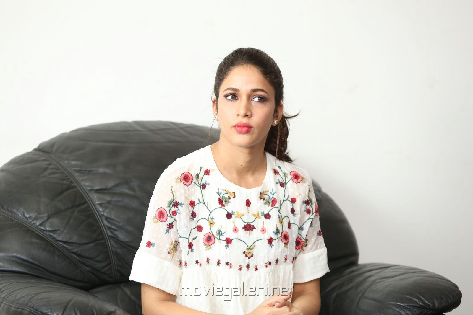 Mister Actress Lavanya Tripathi Interview Images