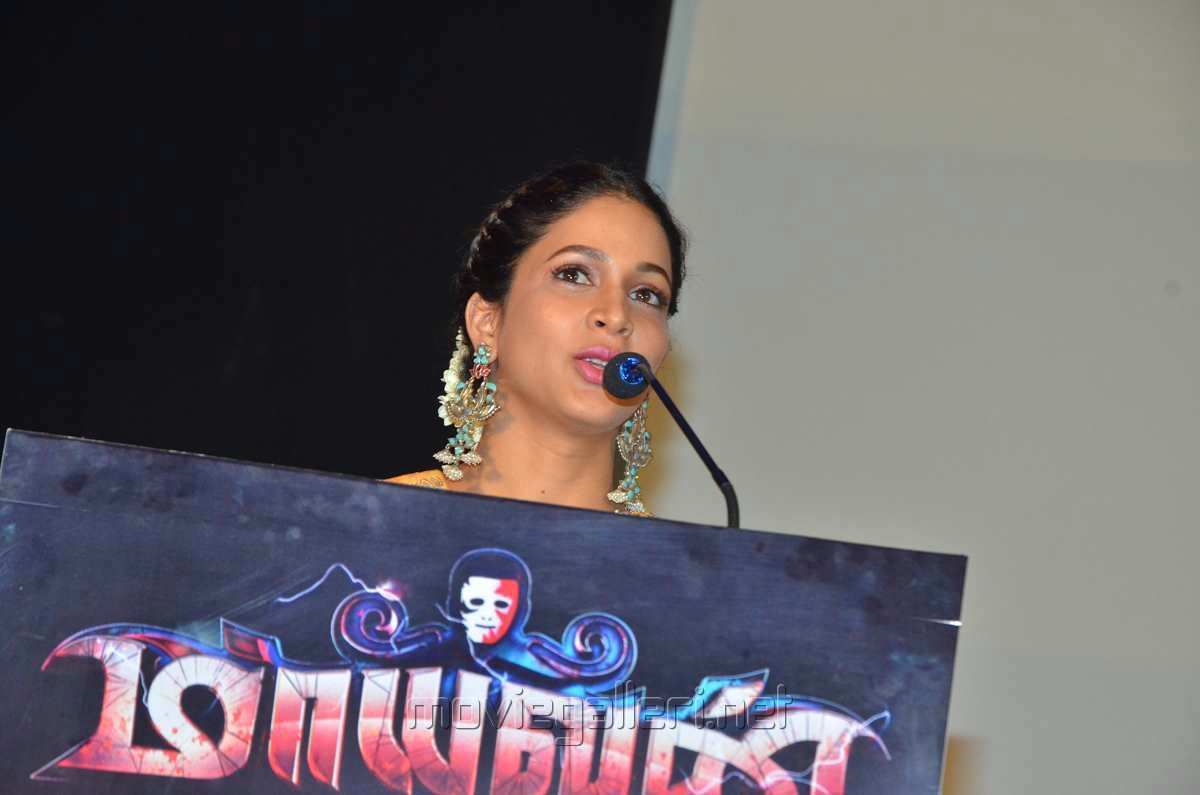 Actress Lavanya Tripathi Images @ Mayavan Audio Release