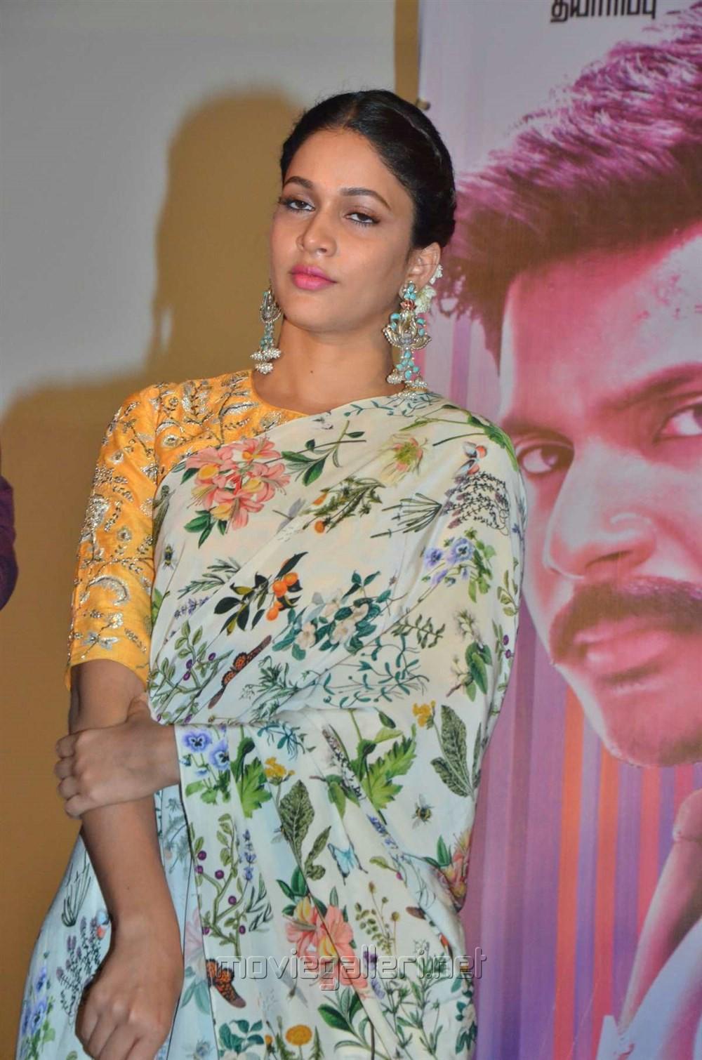 Actress Lavanya Tripathi Images @ Mayavan Audio Launch