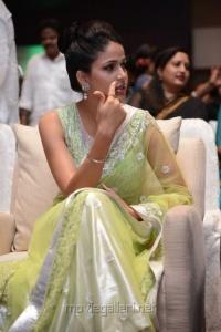 Lavanya Tripathi Hot Photos in Transparent Yellow Green Saree