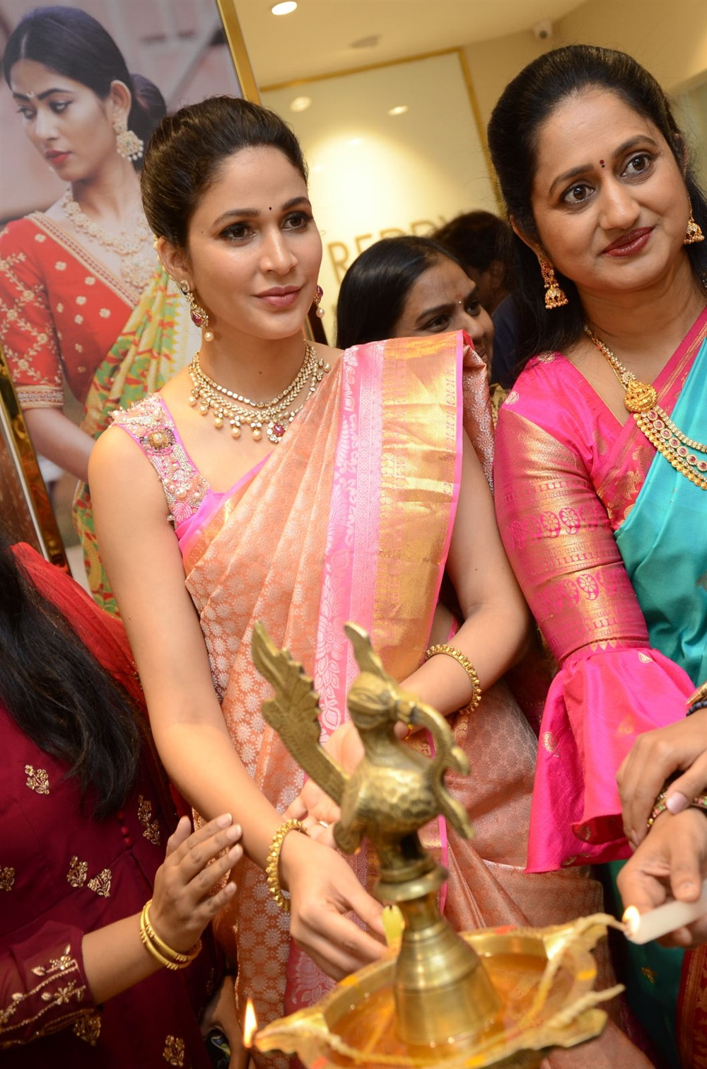 Actress Lavanya Tripathi launched Swaroopa Reddy Boutique @ Banjara Hills Photos