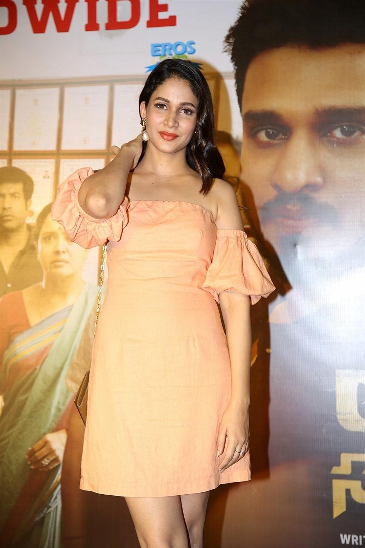 Actress Lavanya Tripathi Stills @ Arjun Suravaram Success Celebrations