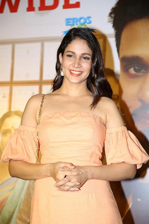 Actress Lavanya Tripathi New Stills @ Arjun Suravaram Success Celebrations