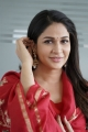 Actress Lavanya Tripathi Red Churidar Photos
