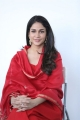 Actress Lavanya Tripathi Red Churidar Dress Photos
