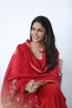 Chaavu Kaburu Challaga Movie Actress Lavanya Tripathi in Red Churidar Photos