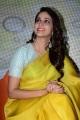 Telugu Actress Lavanya Tripathi Yellow Saree Photos