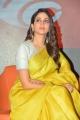 Antariksham Movie Actress Lavanya Tripathi Yellow Saree Photos