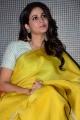 Actress Lavanya Tripathi Yellow Saree Photos @ Antariksham Movie Trailer Launch