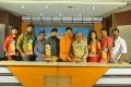 Lavanya With Lover Boys Movie Platinum Disc Function Stills