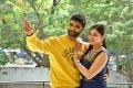 Kamal Kamaraju, Mouryaani @ LAW (Love And War) Movie First Look Launch Stills