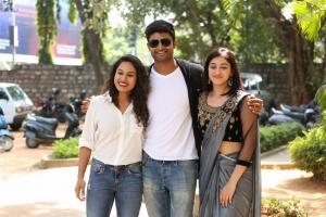 Pooja Ramachandran, Kamal Kamaraju, Mouryani @ Law Movie Trailer Launch Stills