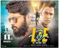 Actor Nithin, Arjun Sarja in LIE Movie Release Posters