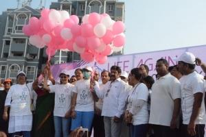 Gautami, Balakrishna @ Life Again Winners Walk @ Vizag Photos