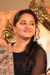 Actress Anushka @ Linga Movie Audio Launch Stills