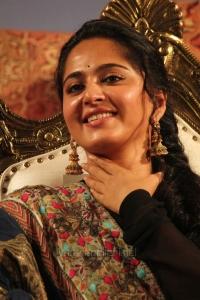 Actress Anushka @ Lingaa Movie Audio Launch Stills