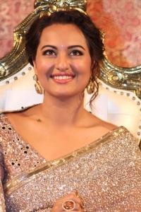 Actress Sonakshi Sinha @ Linga Movie Audio Launch Stills