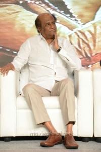 Actor Rajinikanth @ Lingaa Movie Audio Success Meet Stills