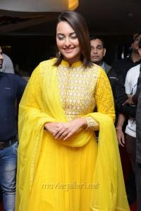 Actress Sonakshi Sinha @ Lingaa Movie Audio Success Meet Stills