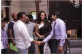 KS Ravikumar, Anushka, Santhanam @ Lingaa Movie Working Stills