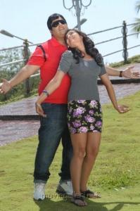 Krishnudu, Bhanu Mehra in Lingadu Ramalingadu Movie Stills