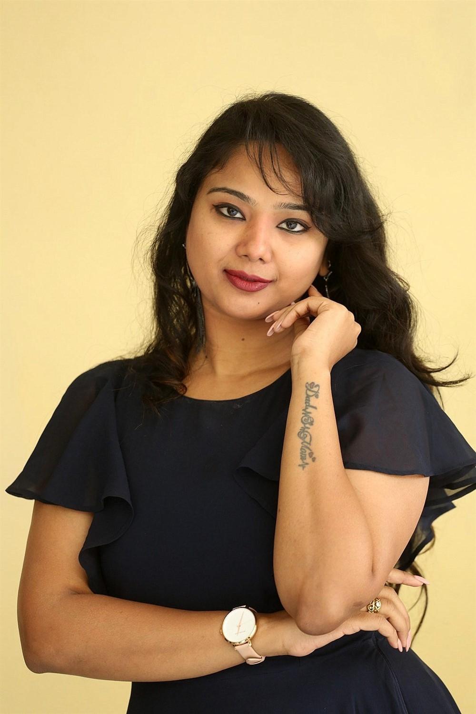 Telugu Actress Lizee Gopal Photos @ Heza Success Meet