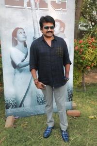 JK Rithesh @ LKG Movie Press Meet Stills