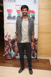 Music Director Leon James @ LKG Movie Success Meet Photos