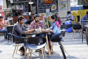 Dhanraj, Rakshith, Swathi Reddy in London Babulu Movie Stills
