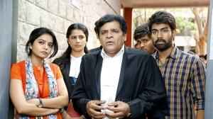 Swathi, Sathya Krishnan, Ali, Rakshith in London Babulu Movie Stills