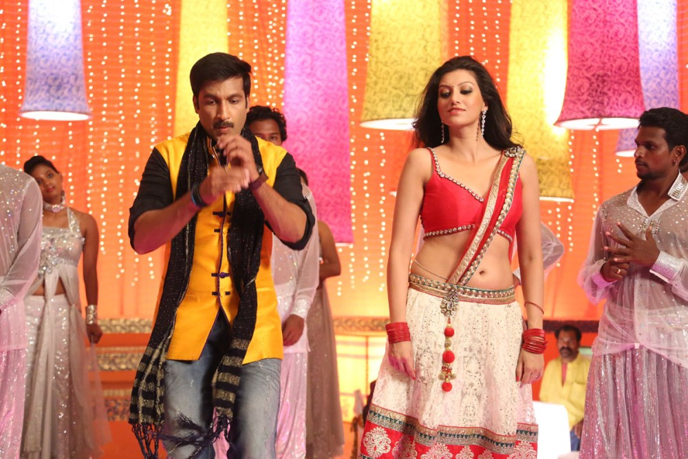 Gopichand, Hamsa Nandini in Loukyam Movie Item Song Stills