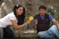 Hema, MS Narayana in Love Dot Com Telugu Movie Stills