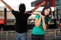 Arya Sandeep, Niti Taylor in Love Dot Com Telugu Movie Photos