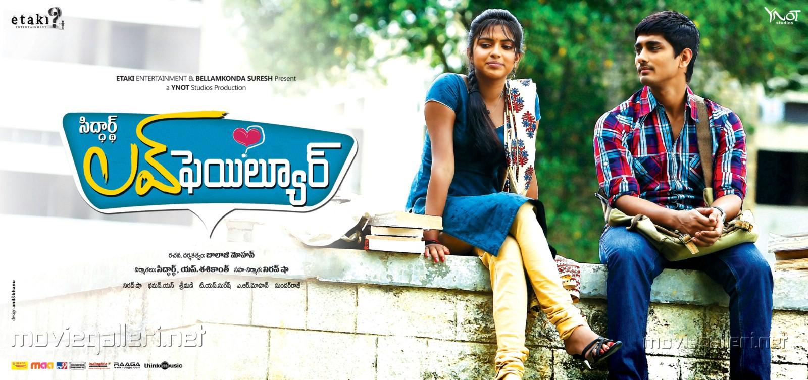 Love Failure Siddarth Amala Paul Hd