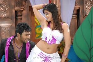 Shanthanu, Kausha Rach in Love in Hyderabad Movie Stills