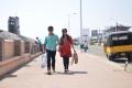 Deepak Taroj & Malavika Menon in Love K Run Telugu Movie Stills