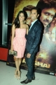 Melanie Kannokada, Arjun Gupta at Love Lies and Seeta screening at CineMax