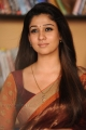 Actress Nayanthara in Saree IMages from Love Story Movie
