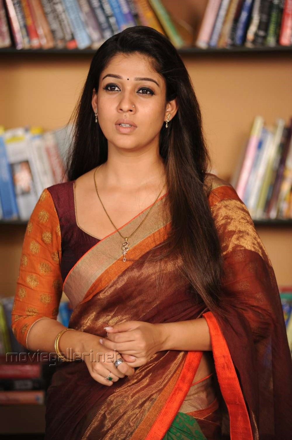 Picture 461617 | Actress Nayanthara in Saree IMages from Love Story ...