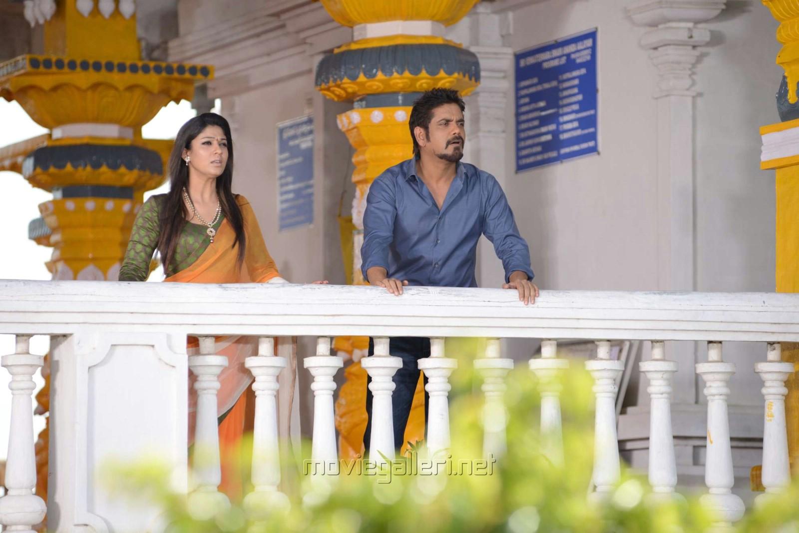 Nayanthara, Nagarjuna in Love Story Movie Images