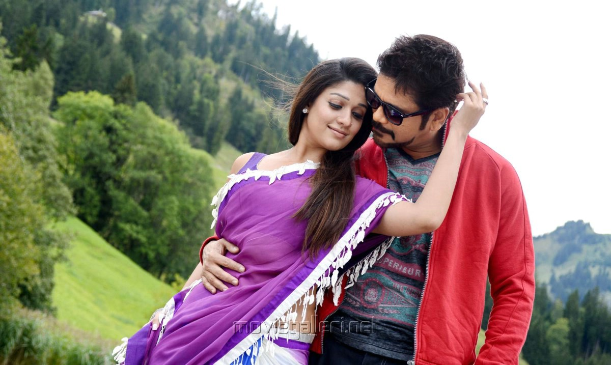 Nayanthara, Nagarjuna in Love Story Tamil Movie Photos