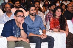 Aamir Khan, Naga Chaitanya, Sai Pallavi @ Love Story Pre Release Photos