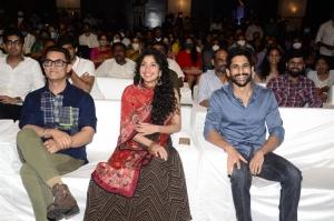 Aamir Khan, Sai Pallavi, Naga Chaitanya @ Love Story Pre Release Photos
